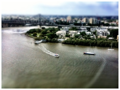 iphoneography -  brisbane river