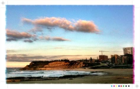 newcastle beach