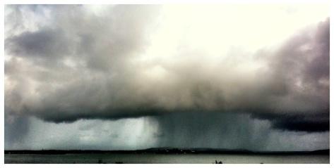 Belmont Bay Rain Storm