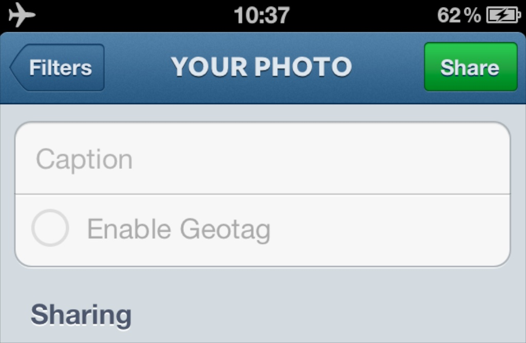 Blank Instagram Post instagram filters without sharing greg mulvaney