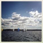 Sailing Lake Macquarie 1