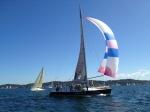 Sailing Lake Macquarie 21