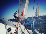 Sailing Lake Macquarie 22