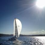 Sailing Lake Macquarie 23