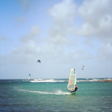 Windsurfing at the Beach